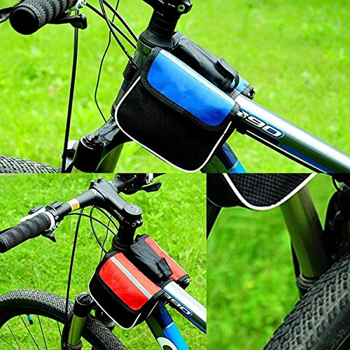 K8U146 @FATO Bicycle Bike Front Frame Tube Mobile Phone Pannier Saddle Bag Case Holder Pouch -