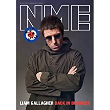 NME Magazine May 2017 - Liam Gallagher Photo Cover Interview - Back in Business