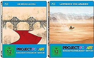 Die Brücke am Kwai + Lawrence von Arabien [Steelbook Blu-ray Set]