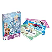 Cartamundi Disney Frozen Pairs and Old Maid Playing Cards, 1 Deck
