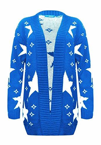 Sugerdiva - Robe - Pull - Femme Bleu Marine