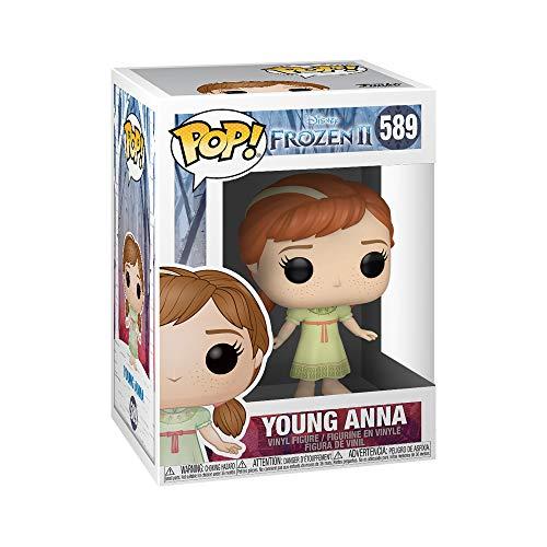Funko 40889 POP Disney: Frozen 2-Young Anna Sammelbares Spielzeug, Mehrfarben