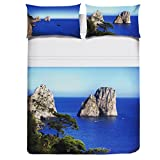 Bettwäsche Doppelbett Digitaldruck Pierre Cardin 100Cot Capri H981