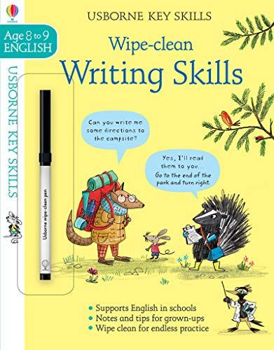 Wipe-Clean Writing Skills 8-9 (Wipe-Clean Key Skills)