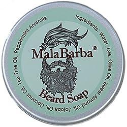 Jabón para Barba Revitalizante. MALABARBA® Revitalizing Beard Soap 75gr.
