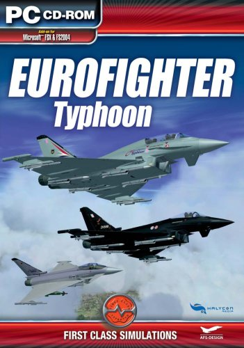 First Class Simulations Eurofighter: Typhoon Add-On for FS 2004/FSX [UK Import]