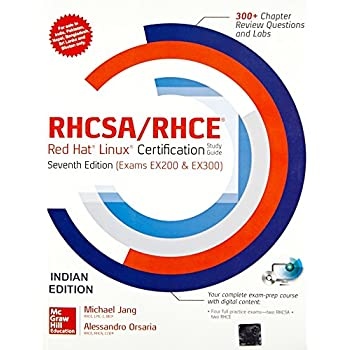 Rhcsa/Rhce Red Hat Liniux Cert.St.Gd. With Dvd