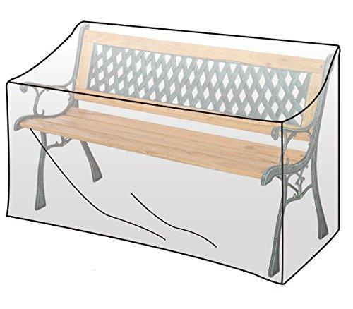 WOLTU GZ1193tp Housse de Protection résistante aux déchirures, Couverture Meubles de Jardin,imperméable pour Le Banc Jardin 135x65x88 cm, Transparent