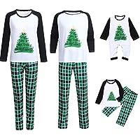 Pijamas Familiares Navideñas Pijama Navidad Familia Conjuntos Navideños Bebe Mujer Niños Niña Hombre Trajes Manga Larga Chicas Chico Homewear Invierno