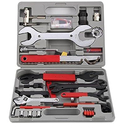 MultiWare 44pcs Bike Repair Tool Set Bicycle Maintenance Tool Kit Multifunctional With Box from OEM