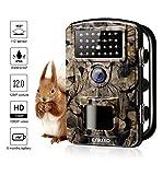 """ENKEEO Wildkamera PH700 Jagdkamera Fotofalle 12MP 1080P HD Tierkamera 110° Weitwinkel Beobachtungskamera IP66 Wasserdicht mit 20m IR Nachtsicht, 0,2S Triggerzeit, 2,4"""" LCD Display"""