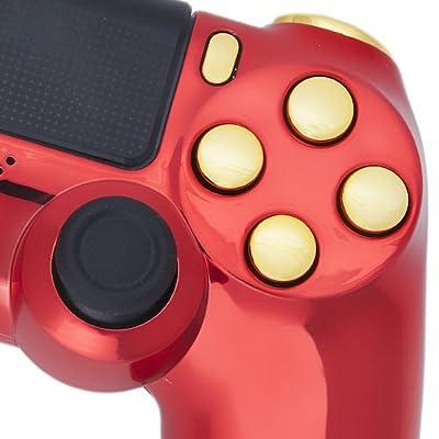 Playstation 4 Custom Controller -Iron Man Edition