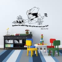 Winnie the Pooh Kids Nursery Wall Sticker Quote Bedroom Inspiring Vinyl Decal 5
