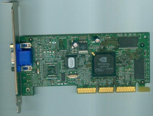 NVIDIA 16MB Vanta-16 AGP VGA Video Card [Grafikkarte]