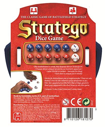 Jumbo 18127 - Stratego Dados Juego, Juegos de Estrategia segunda mano  Se entrega en toda España
