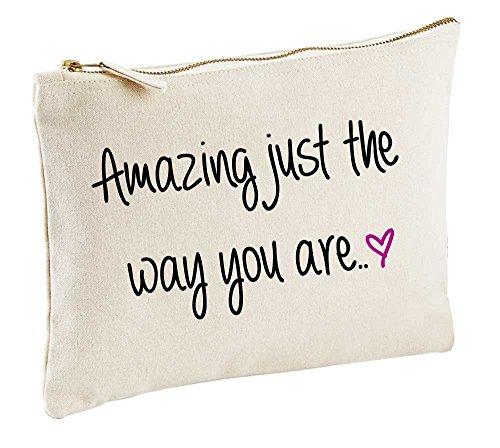 Amazing Just the Way You Are Naturel Make Up Sac cadeau Idée cadeau Trousse de toilette