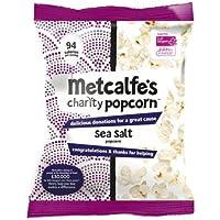 Metcalfe's Popcorn | Sea Salt Popcorn | 2 x 24 x 20g