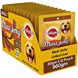 Pedigree Dog Treats Meat Jerky Stix, Liver, 80 G (Pack Of 12)