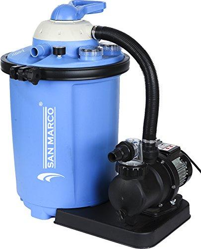 3bb310e8 Filtro A Sabbia 10 M3/HFino A 60 M3 per piscine fuoriterra e interrate  (10,5m3/h. San Marco. Compra. 263,90. Intex 28001 auto cleaner per pompe ...