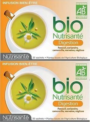 NUTRISANTE - Nutrisanté Infusion Bio Digestion Lot de 2 x 20 sachets