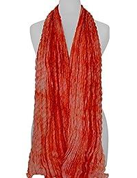 Écharpe en soie, 100% soie, coloré, soie fait à la main