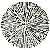 tappeti Domestico Antiscivolo Antiscivolo all Seasons, Nordic Trend, Misura Colore Opzionale (Colore : 6#, Dimensioni : Diameter 100cm)
