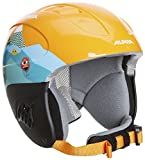 ALPINA Kinder Skihelm Carat, Orange, 48-52