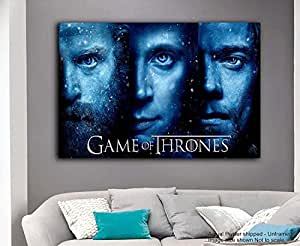 Tamatina Game of Thrones Poster - Characters - Season 7 - Large Size Poster - HD Quality - 36 inches x 24 inches (92 cms x 61 cms)