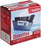 """Imation - 3.5"""" DS-HD IBM Formatted - Black 10 Pack"""