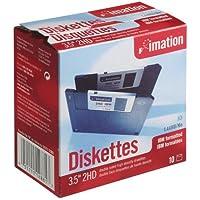 "Imation 12881 - Caja de 10 disquetes de alta densidad 3.5"", formato PC"