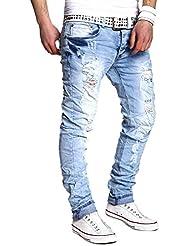 MT Styles Jeans Slim Fit Pantalon RJ-2023