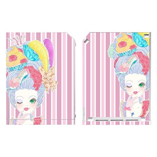 Disagu SF-sdi-3482_1137 Design Folie für Nintendo Wii stehend - Motiv Marie-Antoinette 02