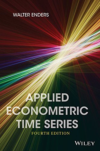 Applied Econometric Time Series (Wiley Series in Probability and Statistics) por Walter Enders