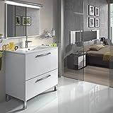 GOLDEN Mueble lavabo 1p abat.+1c + espejo + LAVABO CERAMICO
