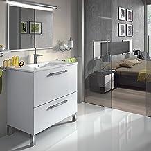 GOLDEN Mueble lavabo 1p ABATIBLE.+1 CAJÓN + ESPEJO + LAVABO CERÁMICO