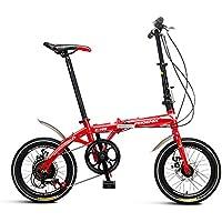 OUKANING Tragbar Faltbar 55,9/cm Laufrad Tandem Fahrrad Bike kohlenstoffreicher Stahl 3/SEATERS f/ür Familie UK
