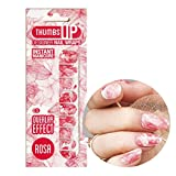 ThumbsUp Nails - Rosa Nail Wraps by ThumbsUp Nails