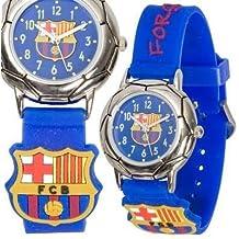 FC Barcelona - Reloj para niño con correa de color burdeos c984c5bf553bc
