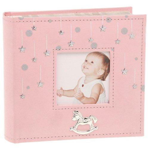 nuovi-stelline-album-di-foto-rosa-regali-per-neonate-naming-cerimonia