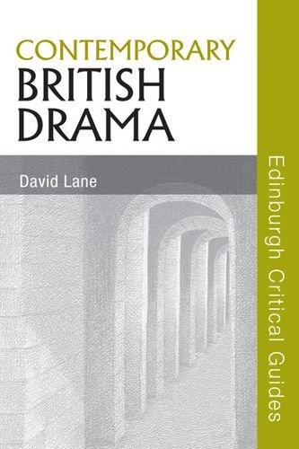Contemporary British Drama (Edinburgh Critical Guides to Literature)