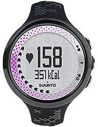 Suunto M5 PACK - Reloj mujer fitness, monitor frecuencia cardiaca + cinturón de frecuencia cardiaca, funciones frecuencia cardiaca ampliadas, sumergible hasta 30 m, color negro
