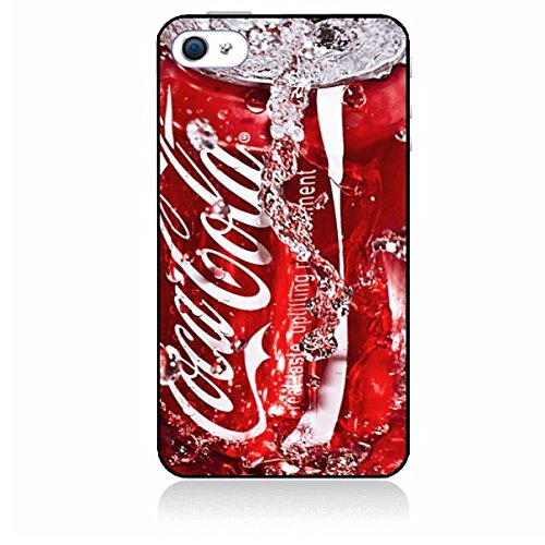 coque-personnalisable ® Custom cover custodia per iPhone 6 (11,9 cm) – originale Red Coca Cola 1032 – Prodotto originale infrangibili in gomma silicone cover- – Handy Schutz Hülle – Cover rigida – Funda Carcasa – Custodia custodia