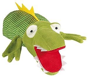 Sigikid 40183 - Marioneta de Mano con diseño de cocodrilo