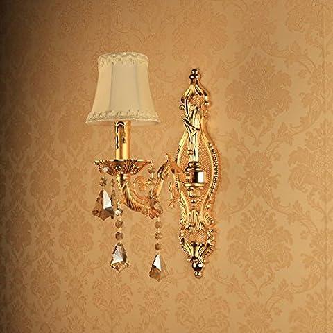 Larsure Vintage Industrial Style Wandleuchte Wandleuchte Lampe Gold Zinklegierung wand Leuchten mit E27 Fassung für Haus, Bar, Restaurants, Café, Club Dekoration, c