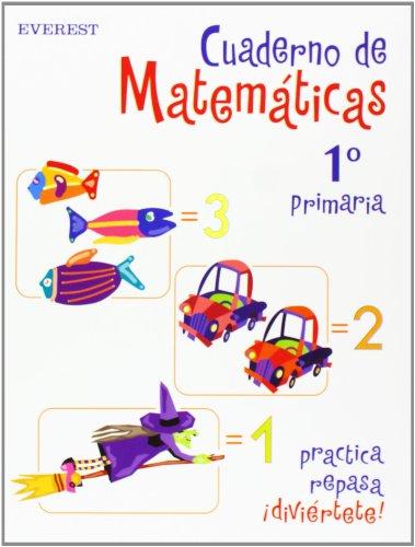 Cuaderno de Matemáticas 1º Primaria