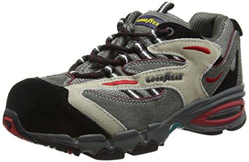 Goodyear, GYSHU2500, Unisex Erwachsene Sicherheitsschuhe, Grau, Gr: 41 EU (7 UK)