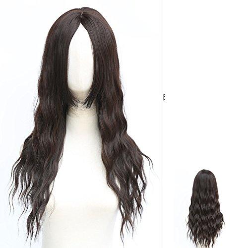 Mais heiße Hälfte-Perücke Perücken/Mode lange Haare/shaggy Perücke ()