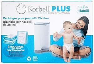 Korbell Plus - sac à couche - Capacité 26L