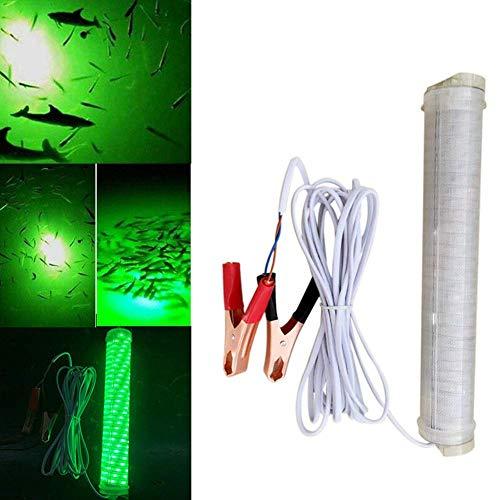 TXYFYP Night Fishing LED Licht Unterwasser Fishing Licht Unterwasser Tief Tiefer Dock Snook Licht Tauchpumpe Fischerboot Lampe Köder Köder Attract Angeln Licht - Grün (30w) -