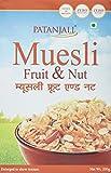 #9: Patanjali Muesli Fruit and Nut, 200g